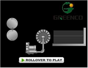 side channel blower paper holder application