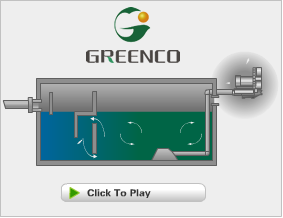side channel blower Sediment application