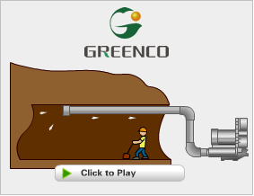 side channel blower Ventilation application